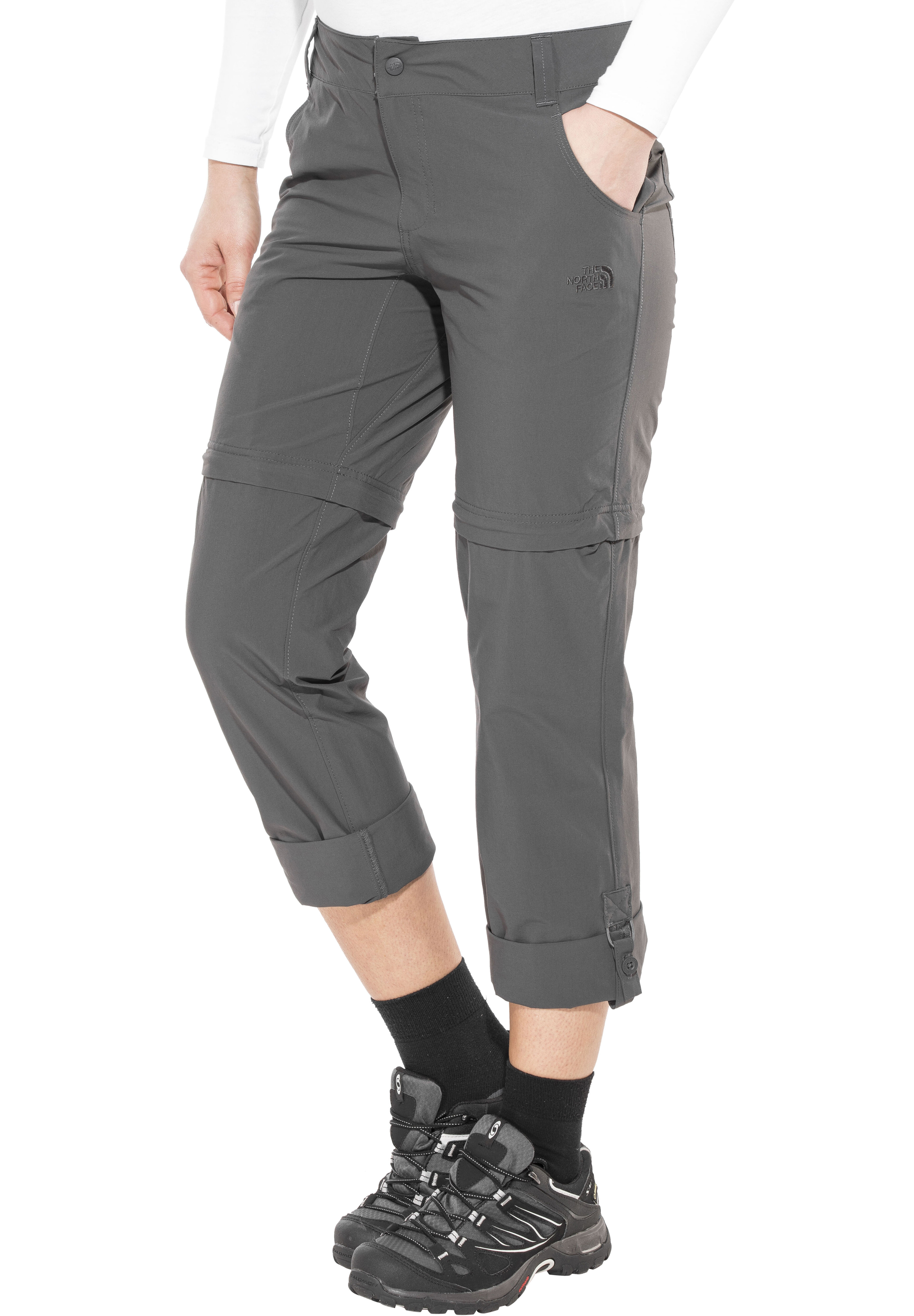 The North Face Exploration Pantaloni lunghi Donna regular grigio su ... 46bc89b75076